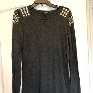 ✨ Express embellished tunic sweater ✨